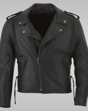 Tempest -  Men's Motorbike Leather Jacket