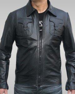 Apollo - Men's Leather Jacket