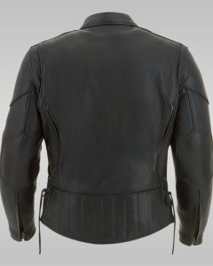 Hurricane - Men's Motorbike Leather Jacket