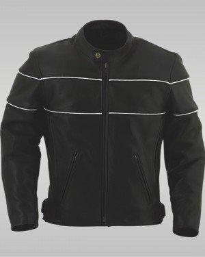 Tornado - Men's Motorbike Leather Jacket