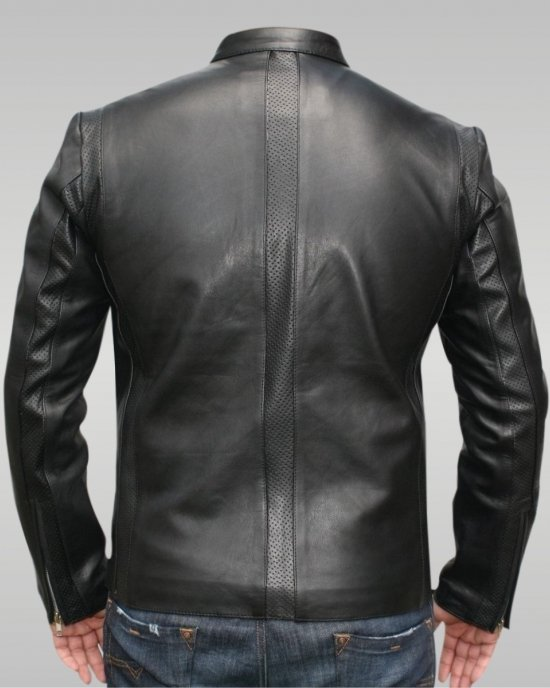 Ares - Men's Leather Jacket