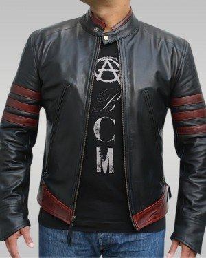X-Men Origins - Men's Motorbike Leather Jacket