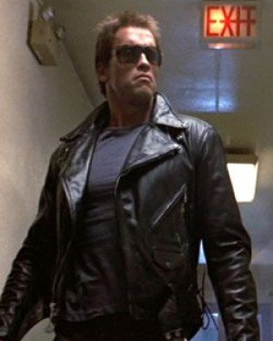 Terminator - Men's Motorbike Leather Jacket