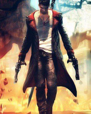DMC (Devil May Cry) - Men's Leather Jacket