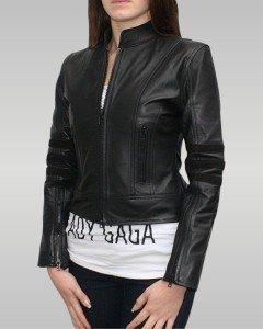 Dark Angel - Women's Leather Jacket (Black)