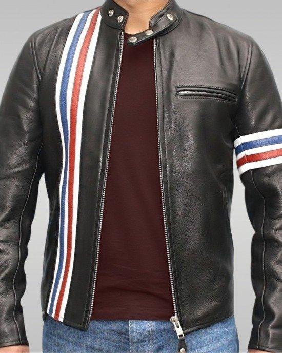 Firestorm - Men's Motorbike Leather Jacket