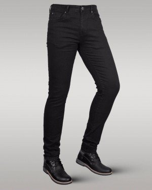 Immense - Men's Super Skinny Stretch Jeans (Black)