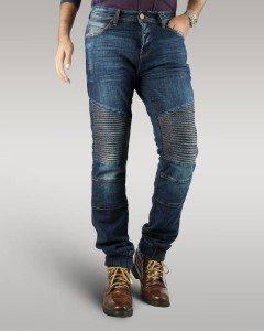 Hector - Men's Motorbike Jeans (Blue)