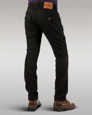 Savage Rider - Men's Motorbike Jeans (Black)