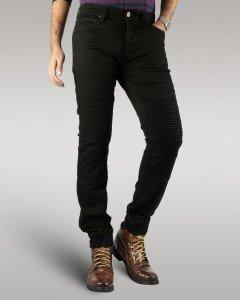 hector -men's-motorbike-jeans (Black)