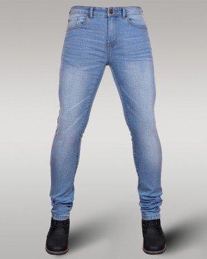 Immense - Men's Super Skinny Stretch Jeans (Iced Blue)